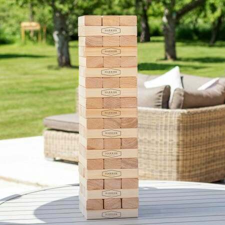 Premium Giant Jenga Set | Outdoor Garden Games | Net World Sports