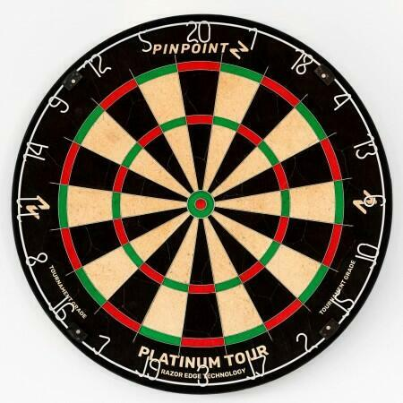 PINPOINT Professional Dartboard | Net World Sports
