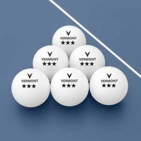 Vermont 1, 2 & 3 Star Table Tennis Balls   Net World Sports