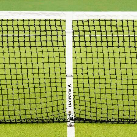 Install Tennis Net Centre Strap - Tennis Court Net Center Strap