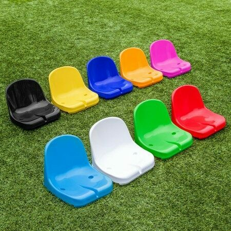 Professional Moulded HDPP Seats For Sports Shelters | Net World Sports