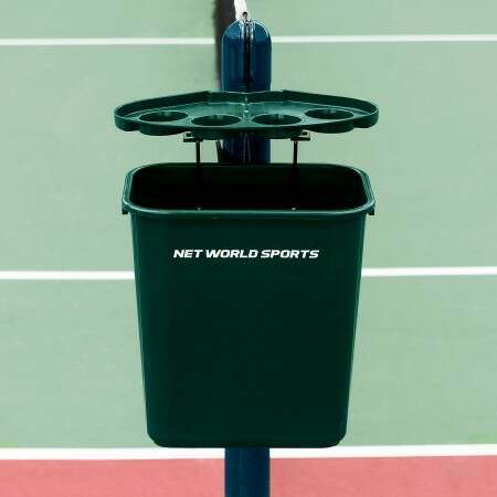 Tennis Court Bin & Shelf | Net World Sports Australia