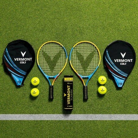 Vermont Contender Tennis Racket & Vermont Classic Tennis Balls | Net World Sports