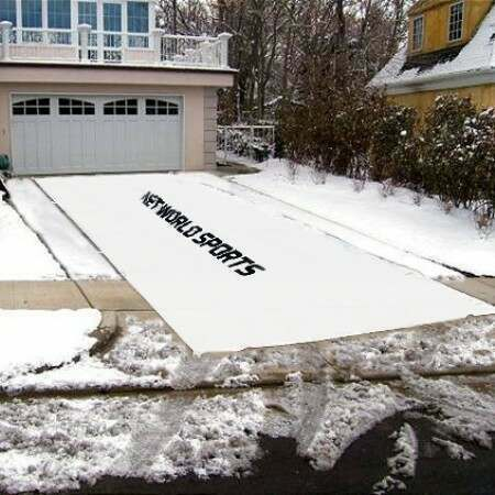 Winter Weather Tarpaulin [Driveway Snow Removal Tarp]
