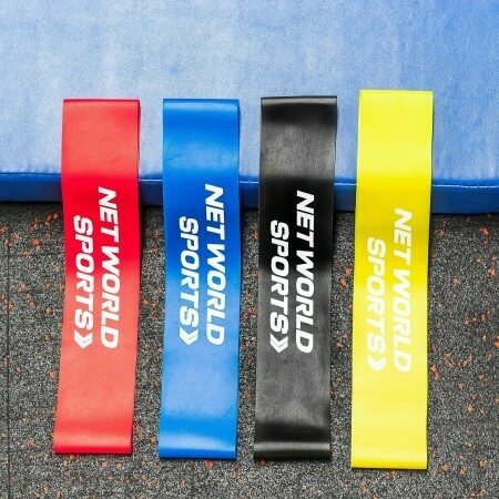 TPE Resistance Bands With Compact Carry Case