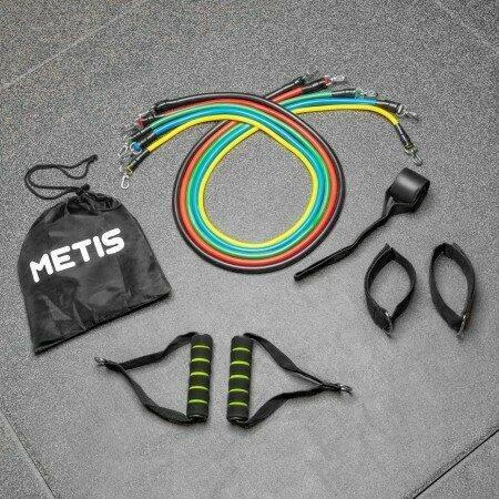 METIS Pulley Resistance Bands Set | Net World Sports