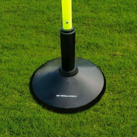 Sturdy Slalom Pole Rubber Base | Net World Sport