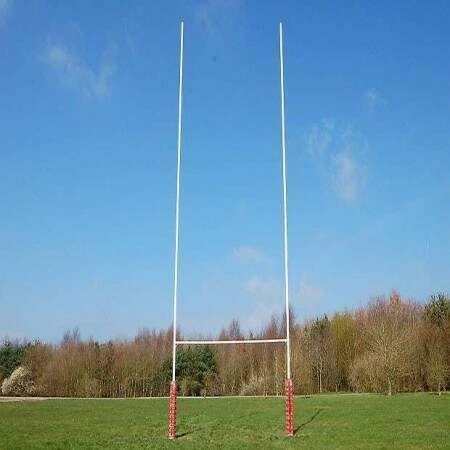 Socketed Aluminium Rugby Posts