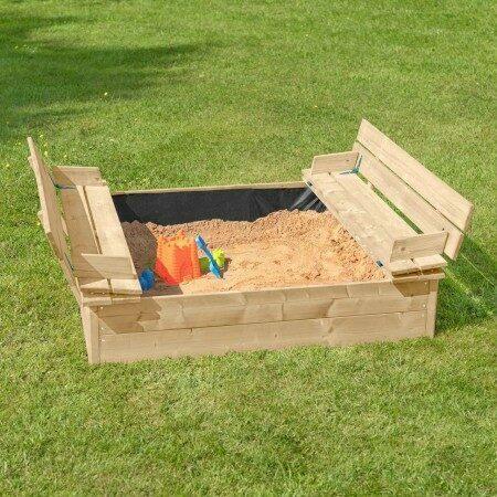 Harrier Wooden Sand Box | Net World Sports