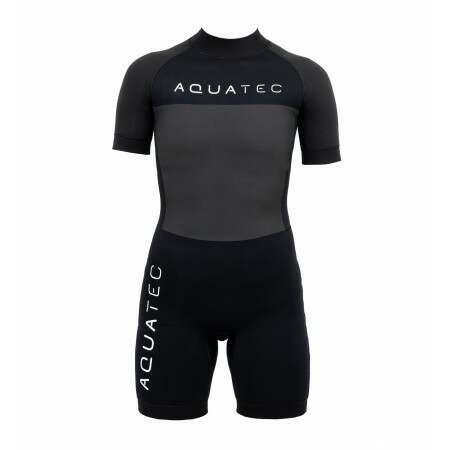 AquaTec 4/3mm Kids Shorty Wetsuit | Net World Sports