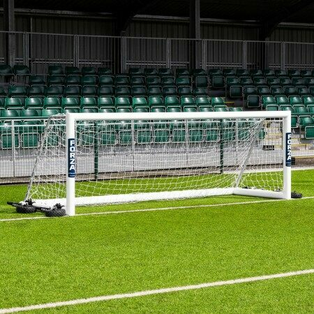 12 x 4 FORZA Alu110 Freestanding Football Goal