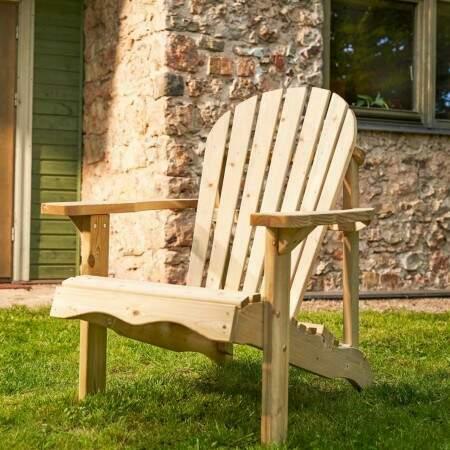 Harrier Garden Wooden Relax Chair | Net World Sports