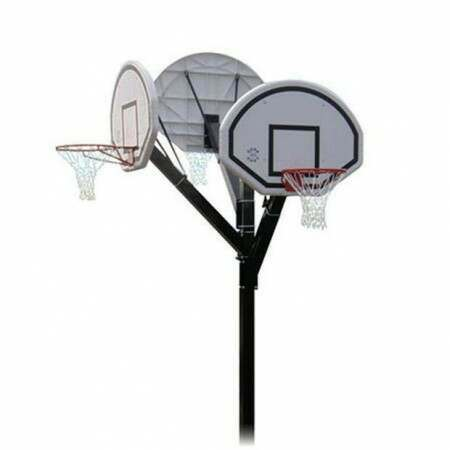 Socketed 3-Way Basketball Unit [Schools]