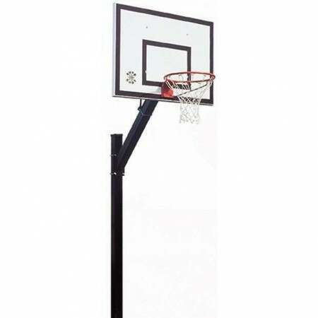 Socketed ULTRA Heavy Duty Basketball Unit [Parks]