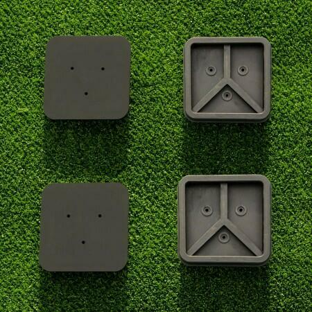 Tennis Post Socket Caps | Tennis Post Socket Lids (Set of 2) (Round & Square Available)