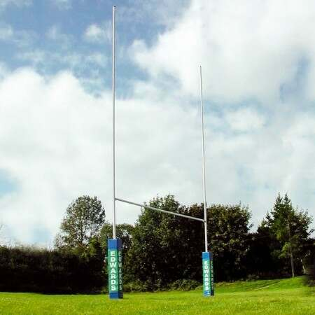 Heavy Duty Steel Socketed Rugby Posts