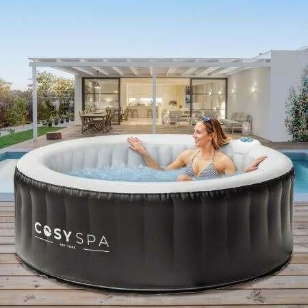 CosySpa Uppblåsbart Hot Tub [Ny Uppgraderad 2021 modell]