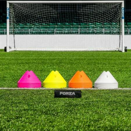 Yellow Football FORZA Mega Cone And Bag