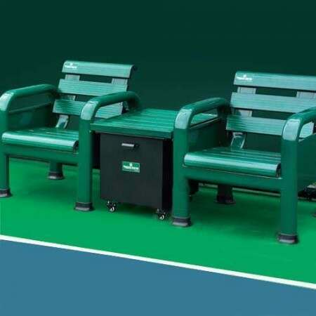 Top Of The Range Tennis Court Table & Chairs Set | Vermont USA