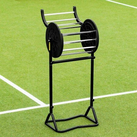 Tennis Ball Hopper With Lockable Lid | Steel Frame | Net World Sports