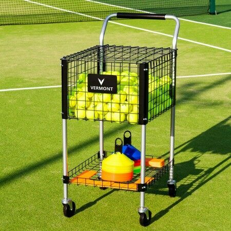 Dunlop Teaching Tennis Ball Cart | Tennis Ball Trolley | Tennis Ball Basket | Ball Carts For Sale | Net World Sports