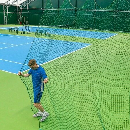Indoor Tennis Court Divider Net