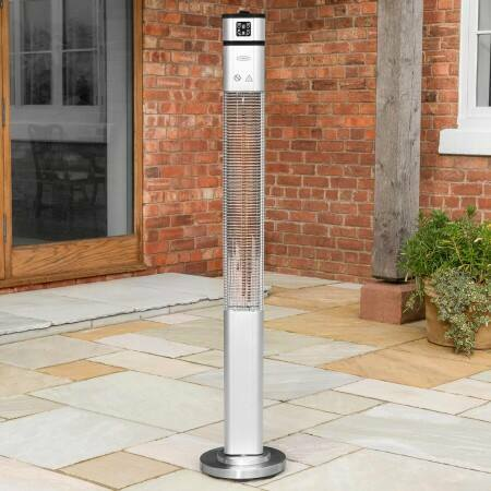 Harrier 2000W Tower Patio Heater | Net World Sports