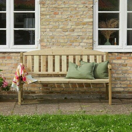 Harrier Wooden Garden Benches [3 Sizes] | Net World Sports