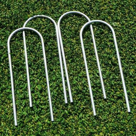 Steel U-Peg Goal Anchors | Net World Sports