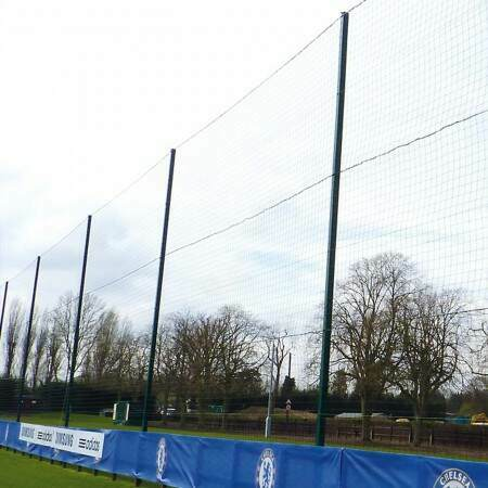 Ultra High 26ft Ball Stop Posts