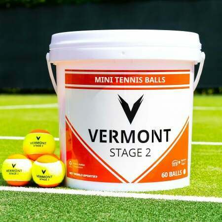 Vermont Mini Orange Tennis Ball | Net World Sports