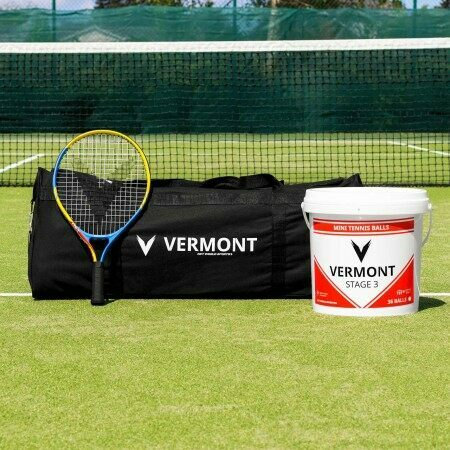 Vermont Mini Red Tennis Set (Stage 3 Kids Tennis) | Net World Sports