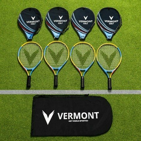 Vermont Mini Red Tennis Racket & Bag Set | Net World Sports