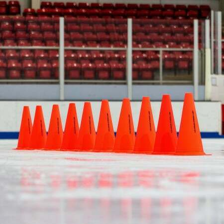 "12"" FORZA Ice Hockey Marker Cones 