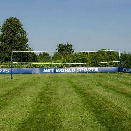 ProCourt Badminton/Volleyball Posts [44kg] & Nets Package