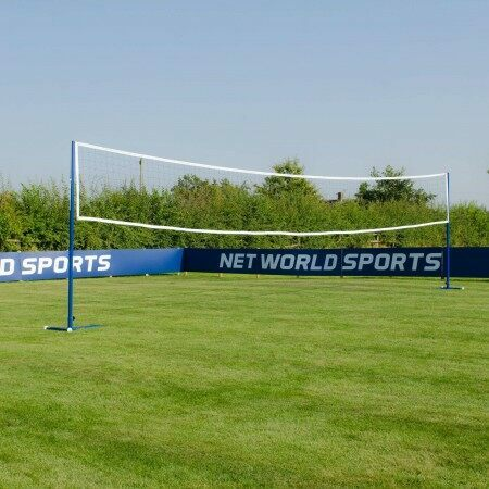 Freestanding Volleyball Posts | Durable Volleyball Posts | Volleyball Posts With Wheels | Net World Sports