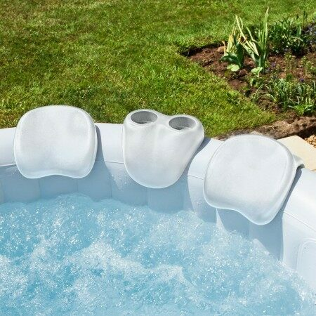 CosySpa Hot Tub Head Rests & Drinks Holder Set | Net World Sports