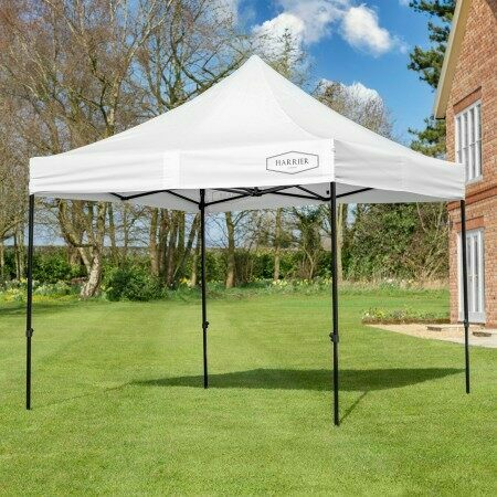 Harrier Deluxe Pop Up Gazebo [3m x 3m] | Net World Sports
