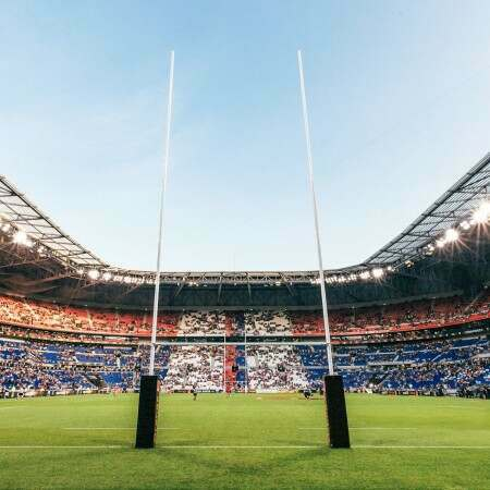 Hinged World Cup Rugby Posts – Competition Spec (13.5m Or 17m High)