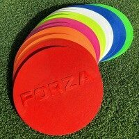 [Pack of 10] FORZA Flat Disc Markers [Multi-Colored]