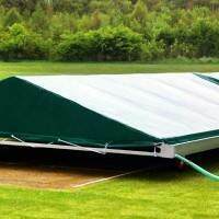 Mobile Cricket Pitch Covers [Test / Apex Shaped] - 24ft