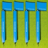 Corner Pole Package - Pack of 4 [Corner Pole, Protector & Foam Flag]