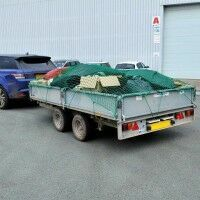 Trailer Nets [Ultra Heavy Duty] - 15ft x 9ft (4.5m x 2.7m)