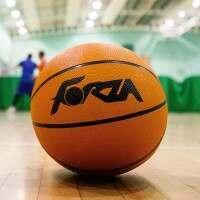 FORZA Ballon de Basket d'Entraînement – Taille 6 (Joueurs Jeunes et Professionnels Féminins, Joueurs Jeunes Masculins)