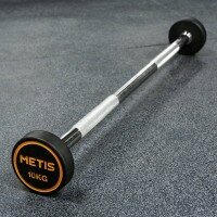 METIS Rubber Barbell Weights [10kg]