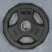 METIS PU Pro Olympic Weight Plates [Pair of 10kg Weight Plates]