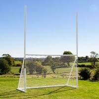 10 x 6 FORZA GAA Gaelic Football & Hurling Goal Posts
