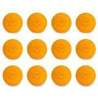 FORZA World Match Lacrosse Balls [Orange] - Pack of 12
