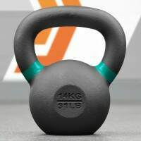 METIS Profi Gusseisen-Kettlebells [14 kg]