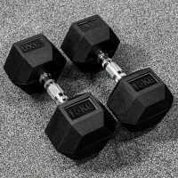 METIS Hex Dumbbell Weights [33lbs]